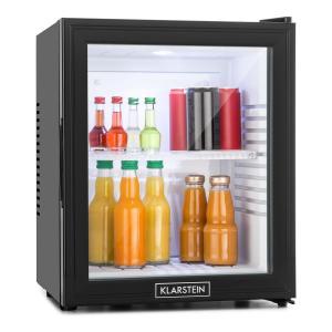Klarstein MKS-13 minibar, 36 litrů, třída B, černý, sklo, 0