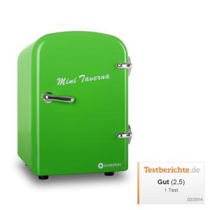 Klarstein ICE2-MINI-TAVERNA-G, zelená, chladnička, 4 l