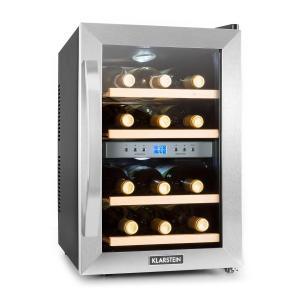 Klarstein HEA3-Reserva-34, chladnička na víno,34 l, 12 lahví