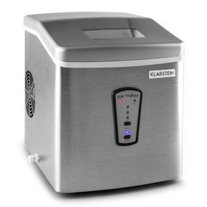 Klarstein Powericer, 180 W, 15 kg/den, zařízení na výrobu ledu, nerezová ocel