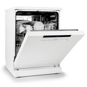 Klarstein AMAZONIA-60 bílá, myčka nádobí 60cm, A++, 1850 W, 12 sad nádobí