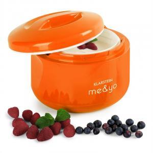 Me & Yo, 1 litr, jogurtovač bez proudu, oranžový