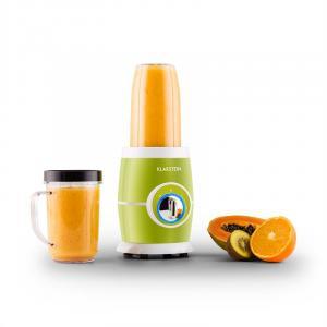Klarstein Juicinho Verde, stolní mixér, 220W, příprava smoothie, 8dílný set