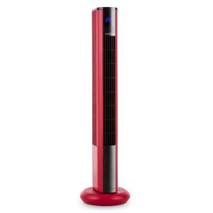 Klarstein Skyscraper 3G, 50 W, věžový ventilátor s dotykovým ovládáním, dálkový ovladač, červený