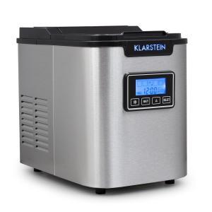 Klarstein ICE6 Icemeister, zařízení na přípravu kostek ledu, 12 kg / 24 hod., nerezová ocel, černá