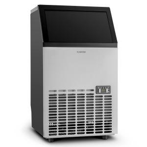 Klarstein Powericer ECO, zařazení na výrobu kostek ledu, 400 W, 45 kg/den, časovač, ušlechtilá ocel