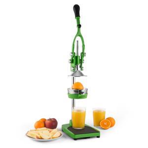 Klarstein TriJuicer, zelený, pákový lis, kráječ hranolků, kráječ jablka