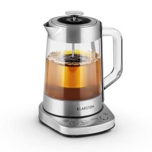 Klarstein Assam Express, 1,5 litru, 1500 W, vařič vody, vařič čaje, nerezová ocel, sítko na čaj