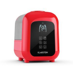 Klarstein Sevilla, 4,5l, červený ultrazvukový zvlhčovač vzduchu s ionizátorem a aromatickou funkcí
