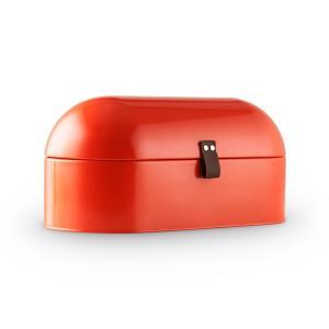 Klarstein Ciabatta Rossa 2, červený retro chlebník, 14,5 l