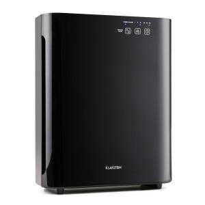 Klarstein Vita Pure 2G, černý dotykový čistič vzduchu a ionizátor, 5 násobný filtr, UV-C, 55 W