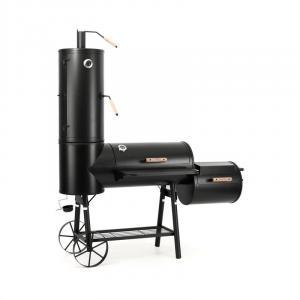 Klarstein Monstertruck, černý, ocelový gril s udírnou, BBQ