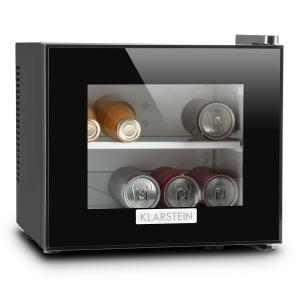 Klarstein Frosty, černá, mini lednička, 10 litrů, 65 W, třída A +