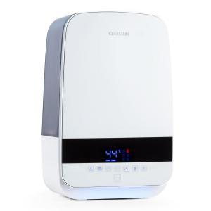 Klarstein Nibelheim, bílý, ultrazvukový zvlhčovač vzduchu, ionizátor, 5,6 l, UV