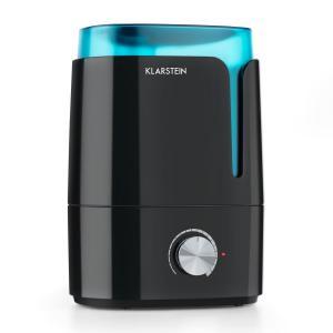 Klarstein Stavanger, černý/tyrkysový zvlhčovač vzduchu, aromatická funkce, ultrazvuk, 3,5 l