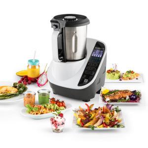 Klarstein Food Circus, bílý, kuchyňský robot, parní hrnec, 16 programů, 500/1000 W