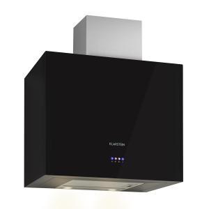 Klarstein Cuboo, černý, digestoř, 60 cm, 340 m3/h