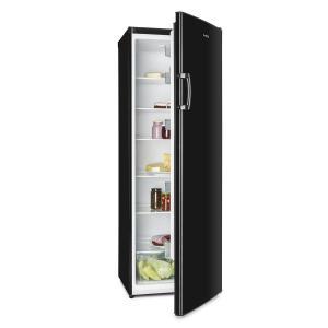 Klarstein Bigboy, černá, lednička 335 l, 6 pater, třída energetické účinnosti A +