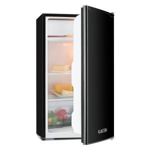 Klarstein Alleinversorger, černá, lednička, 90 l, třída A +, 2 patra mrazicího oddílu