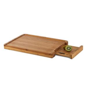 Klarstein Chopmaster, prkénko & kuchyňská váha, 5 kg, bambus