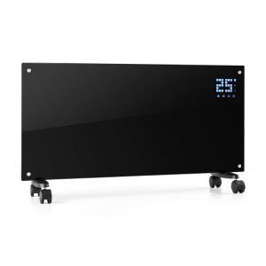 Klarstein Bornholm konvekční ohřívač, 2000 W, LCD displej, 2 stupně vytápění, černý