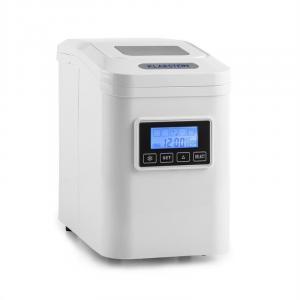 Klarstein Lannister, bílé, zařízení na přípravu kostek ledu, 10 kg / 24 h, bílá