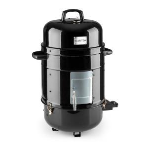 Barney, elektrický gril 3 v 1, BBQ gril, smoker gril (udírna), 1800W, 3x 40 cm, teploměr