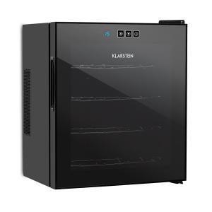 Vinarium vinotéka, 14 l 4 lahve, dotyková, 38 dB, skleněné dveře, černá barva
