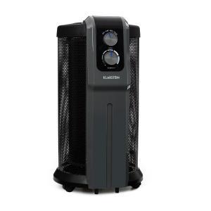 Datscha Analog, 360 ° žárový ohřívač, termostat, radiální vyhřívání, 2000W, černý