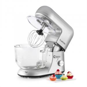 Bella Argentea 2G, kuchyňský robot, 1200 W, 2,5 / 5 l, skleněná miska, stříbrná barva