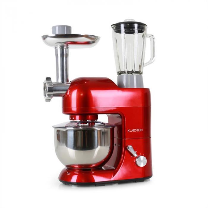 Kuchyňský robot Lucia Rossa 1200W - červená
