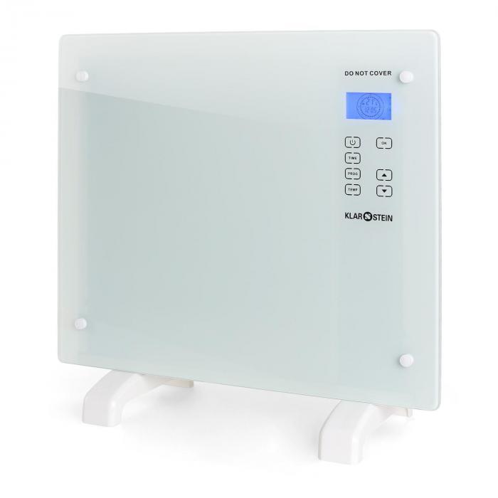 HT006GL, 1000 W, konvektor, sklo/bílá barva